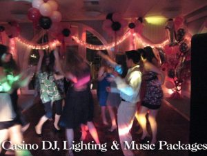 CASINO DJ LIGHTING AND MUSIC