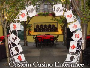 CUSTOM CASINO ENTERANCE